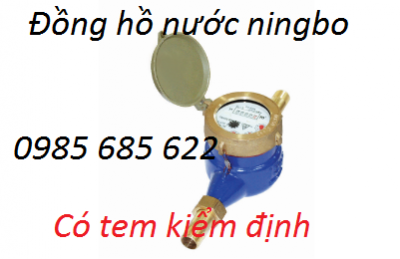 Đồng hồ nước ningbo