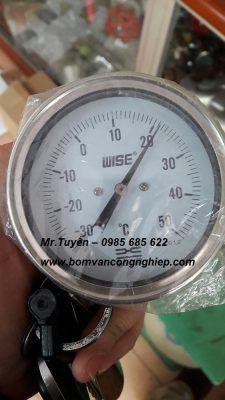 Đồng hồ áp lực mặt dầu